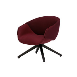Anita Armchair Low Back Swivel Base | Poltrone | SP01