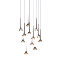 Fairy SP 12 amber grey | Suspended lights | Axolight