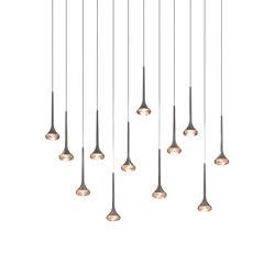 Fairy SP 12R amber grey | Suspended lights | Axolight