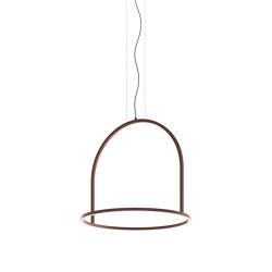 U-Light SP 90 corten | Suspended lights | Axolight