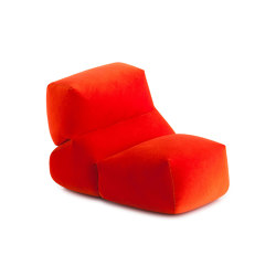 Grapy Soft Seat Red velvet 1 | Armchairs | GAN