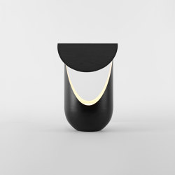 Bounce Table Lamp (Ebonized white oak/Black) | Table lights | Roll & Hill