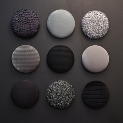 Woolbubbles® Dot times nine small | Sound absorbing wall systems | Wobedo Design