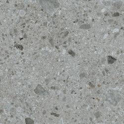Iseo iTOP Gris Abujardado | Compuesto mineral planchas | INALCO