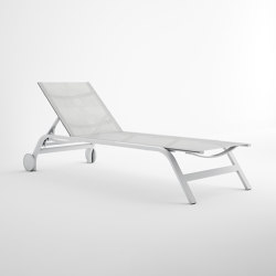 Stack Chaiselongue with Wheels | Sun loungers | GANDIABLASCO