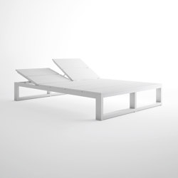 Na Xemena Es Cavallet Double Chaiselongue | Sun loungers | GANDIABLASCO