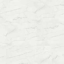wineo PURline® Tiles | White Marble | Pavimenti gomma | Mats Inc.