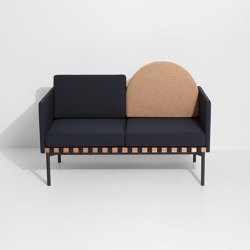 Grid   2 seater sofa with armrests   Sofas   Petite Friture