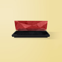 Geometric Accessory Box Red | Contenedores / Cajas | Ivar London