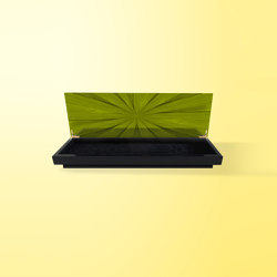 Star Accessory Box Green | Contenitori / Scatole | Ivar London