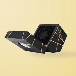 Time Lines Watch Winder Black | Storage boxes | Ivar London