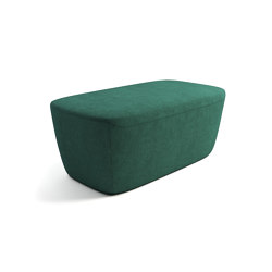 Vella fully upholstered ottoman | Poufs | ERG International