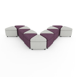 Geometra Triangle | Poufs | ERG International