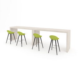 Parma bar height table panel table | Tavoli alti | ERG International