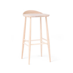 Originals | Bar Stool With Back | Tabourets de bar | L.Ercolani