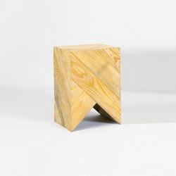 Series 45 Stool/Side Table natural | Side tables | Daniel Becker Studio