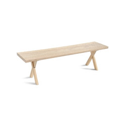Touch Bench (with wood legs) | Bancos | Zanat