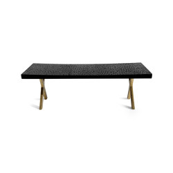 Touch Bench (with bronze legs) | Bancs | Zanat