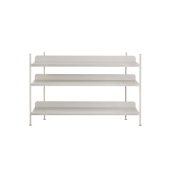 Compile Shelving System | Configuration 2 | Shelving | Muuto