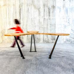 Trebol table | Tavoli alti | QoWood
