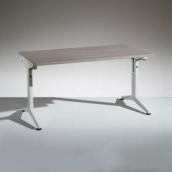 Flip avec plateau rabattable | Tables collectivités | Lamm