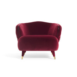 Savoi Armchair | Sessel | black tie