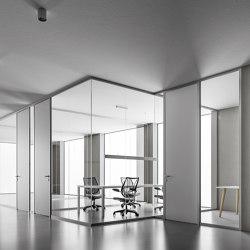 DV602-Single glass 02   Wall partition systems   DVO