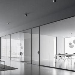 DV602-Single glass 03   Wall partition systems   DVO