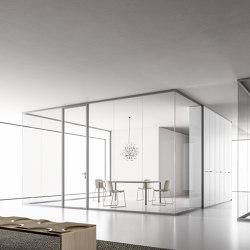 DV602-Single glass 05   Wall partition systems   DVO