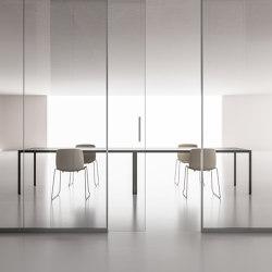 DV602-Single glass 06   Wall partition systems   DVO