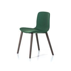 Alfa 4 legs wooden | Chairs | DVO