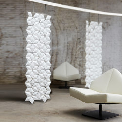 Facet Hanging Room Divider - 68x230cm | Sound absorbing room divider | Bloomming