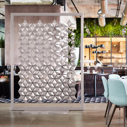 Facet Freestanding Room Divider - 170x219cm | Privacy screen | Bloomming