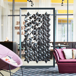 Facet Freestanding Room Divider - 136x219cm | Folding screens | Bloomming