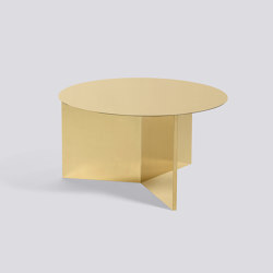 Slit Table XL Round | Mesas de centro | HAY