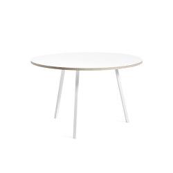 Loop Stand Round Table 120 | Tables de repas | HAY