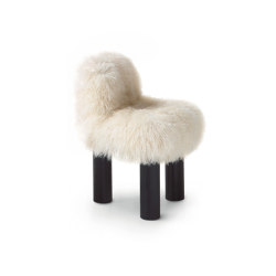 Botolo Armchair - High Fur Version | Armchairs | ARFLEX
