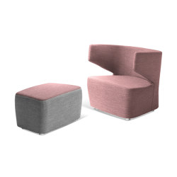 Club + Pouf | Armchairs | LD Seating