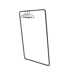 CURVE Wall-mounted rack | Percheros | Schönbuch