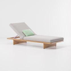Mesh deckchair | Lettini giardino | KETTAL