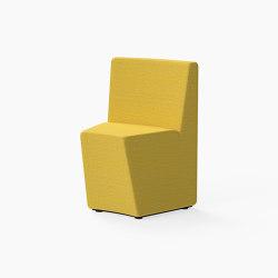 Guell, 30˚ Curved seat | Modulare Sitzelemente | Derlot