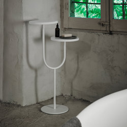 Bivio Freestanding Side Plates | Towel rails | Inbani