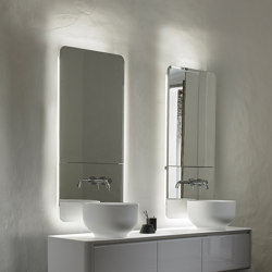 Origin Recessed Wall Mounted Mirror Cabinet Unit | Bath mirrors | Inbani