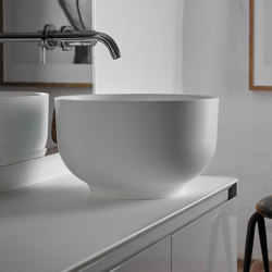 Origin Topsolid top mounted washbasin H25 | Wash basins | Inbani