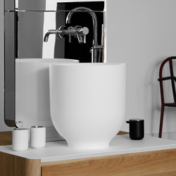 Origin Topsolid top mounted washbasin H45 | Wash basins | Inbani