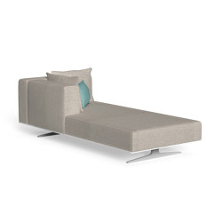 Eden | Sofa Longue Dx | Modular seating elements | Talenti