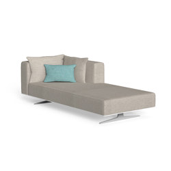 Eden | Sofa Longue Sx | Modular seating elements | Talenti