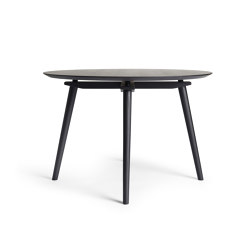 CC Dining Table 110 cm, Black Oak | Dining tables | Rex Kralj
