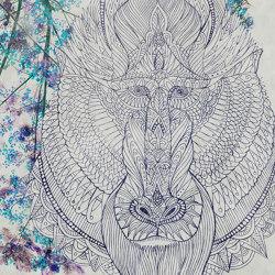 Baboon | Wall art / Murals | TECNOGRAFICA