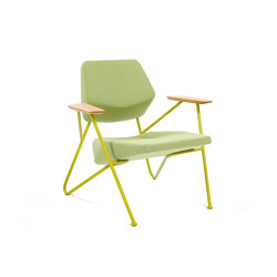 Polygon easy chair outdoor | Poltrone | Prostoria